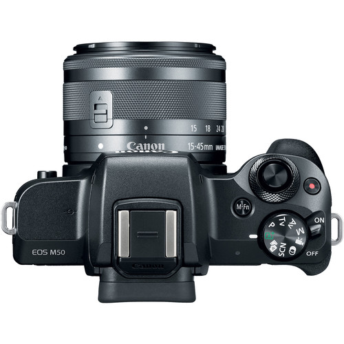Canon EOS M50 Mirrorless com Lente 15-45mm