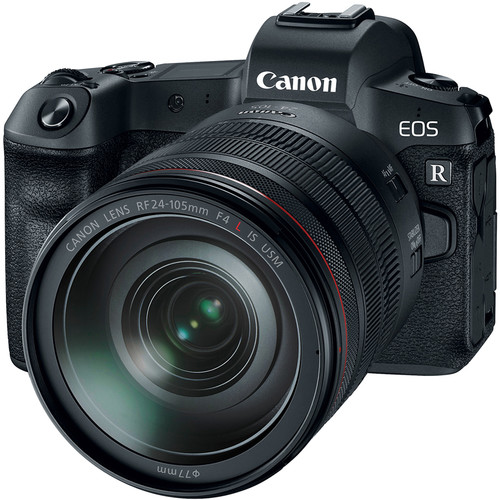Canon EOS R Mirrorless com Lente de 24-105mm