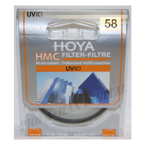 HOYA 58mm moldura Slim HMC UV