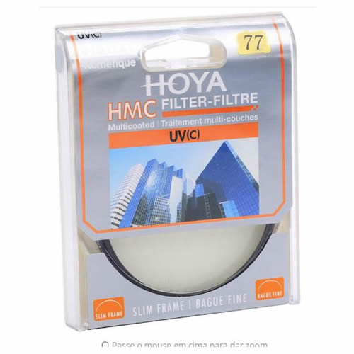 HOYA 77mm moldura Slim HMC UV