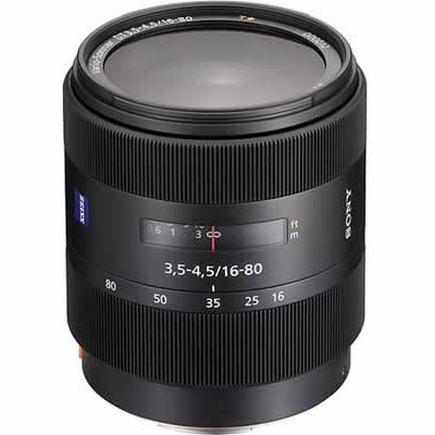 Lente Sony 16-80mm f/3.5-4.5 DT Carl Zeiss Vario-Sonnar T*