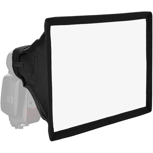 "Vello Softbox para Flash (Médio, 6.25 x 8.5"")"