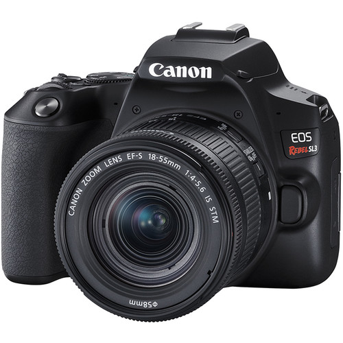 Canon EOS Rebel SL3 DSLR com Lente 18-55mm